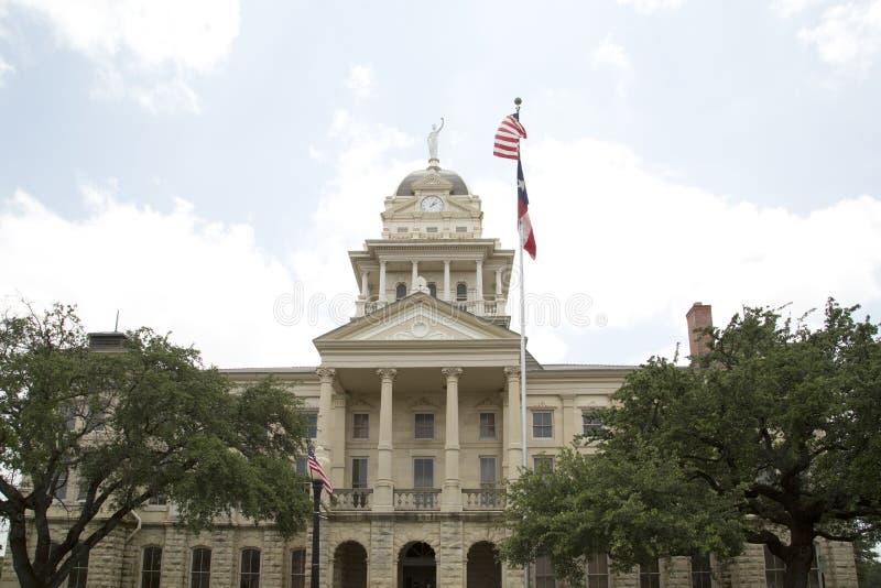 Historisk byggnadBell County domstolsbyggnad arkivbilder