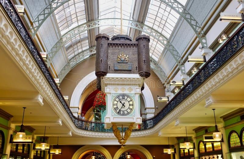 Historisk drottning Victoria Building, Sydney, NSW, Australien royaltyfria bilder