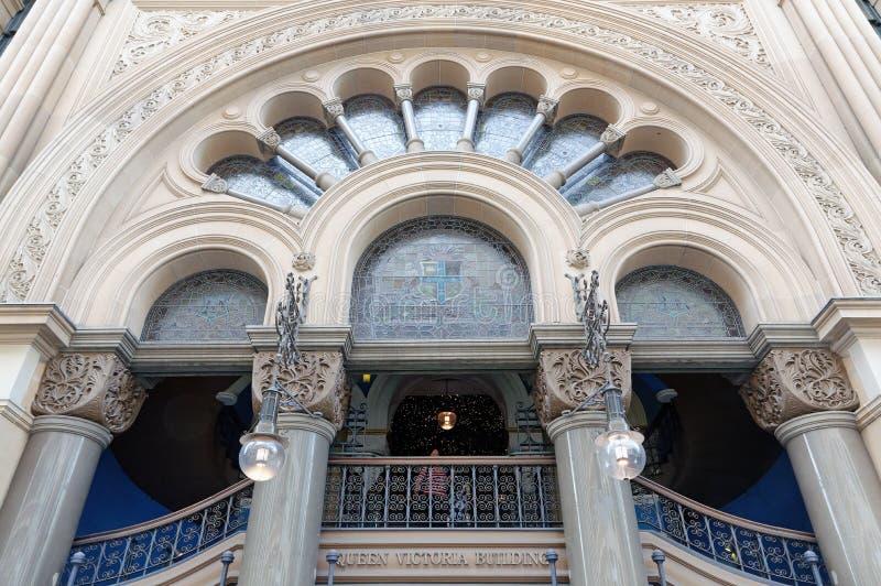 Historisk drottning Victoria Building, Sydney, NSW, Australien royaltyfri fotografi