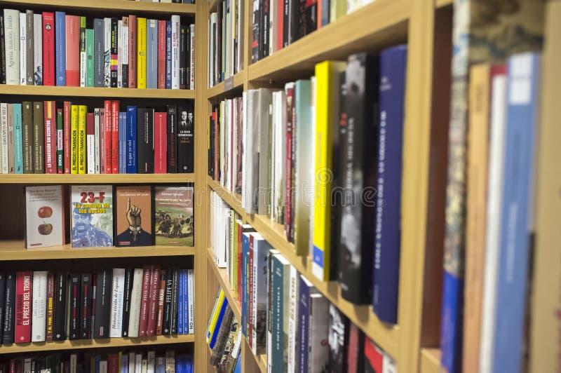 Historisk fiktion och historiska vetenskapsböcker royaltyfria bilder