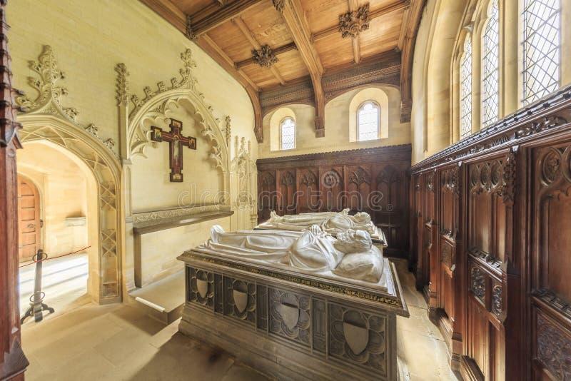 Historisk gränsmärke runt om Arundel royaltyfria foton