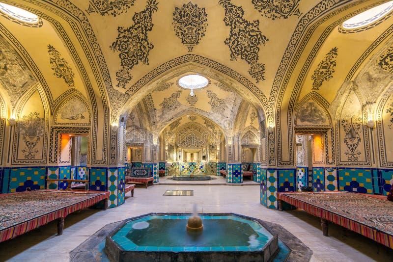 historisk iran för ahmadamirbad sultan royaltyfri foto