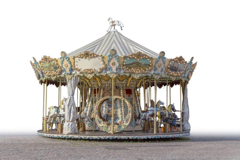 Historisk karusell royaltyfria bilder