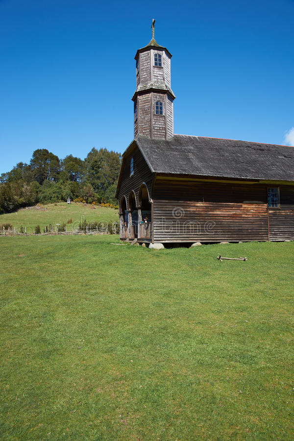 Historisk kyrka för UNESCO royaltyfria bilder