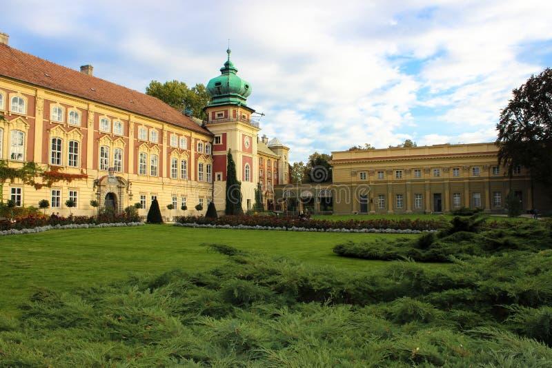 Historisk Lancut slott, Polen arkivfoto
