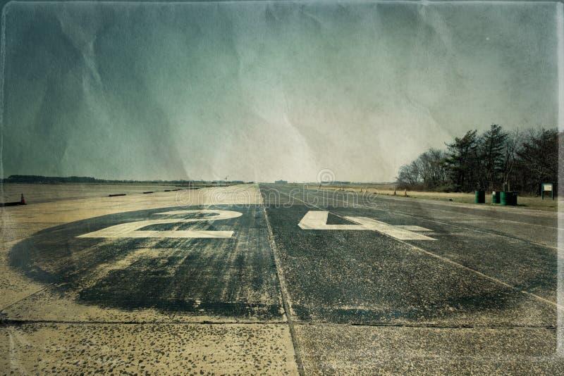 Historisk landningsbana royaltyfria foton