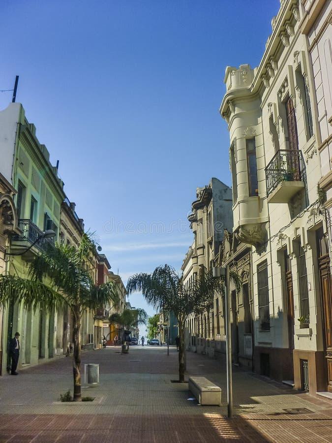 Historisk mitt av Montevideo royaltyfri fotografi