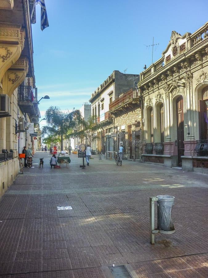 Historisk mitt av Montevideo arkivfoto