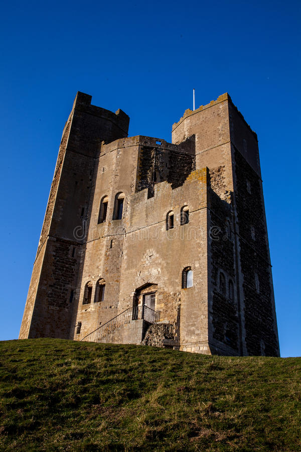 Historisk Orford slott royaltyfri fotografi