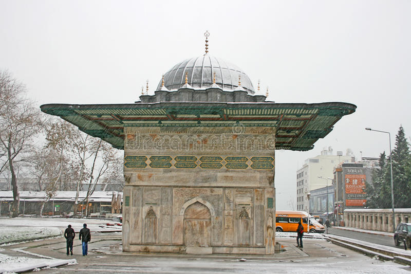 Ottomanspringbrunn royaltyfri fotografi