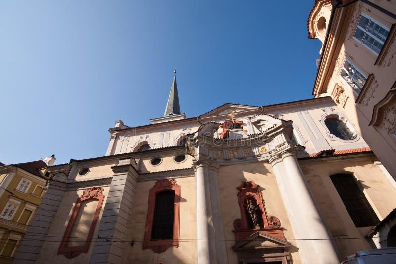 historisk prag för arkitektur royaltyfri bild
