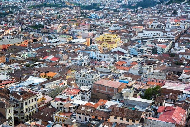 Historisk Quito, Ecuador royaltyfri fotografi