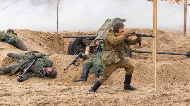 Historisk rekonstruktion av det andra världskriget, arkivfoton