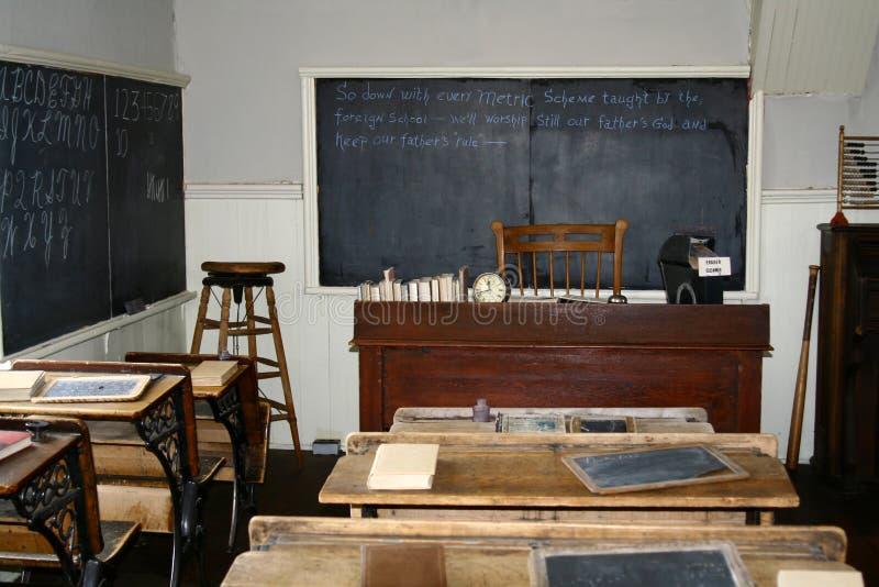 historisk schoolhouse royaltyfri foto