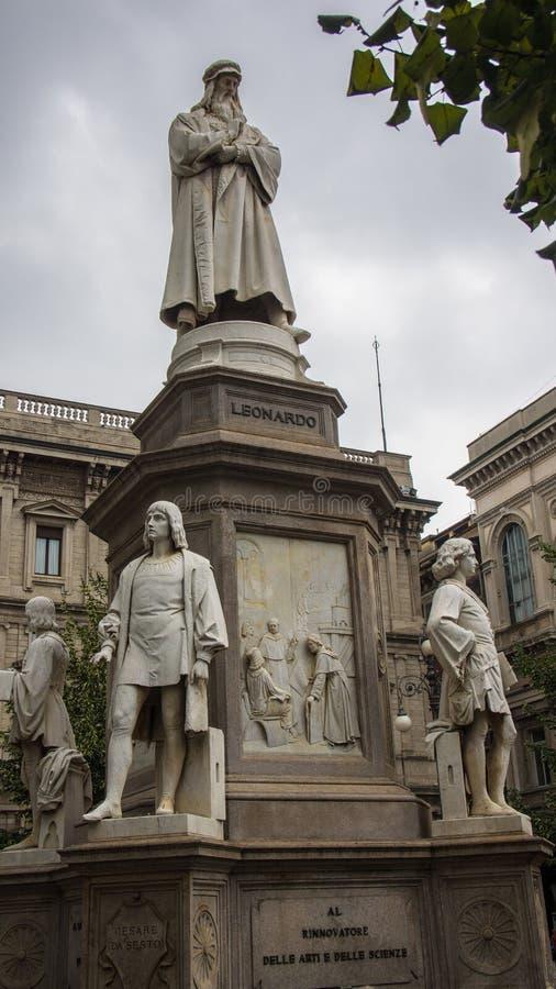 Historisk skulptur i Europa royaltyfria foton