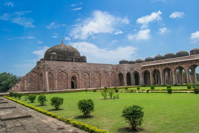 Historisk storslagen moské arkivbild