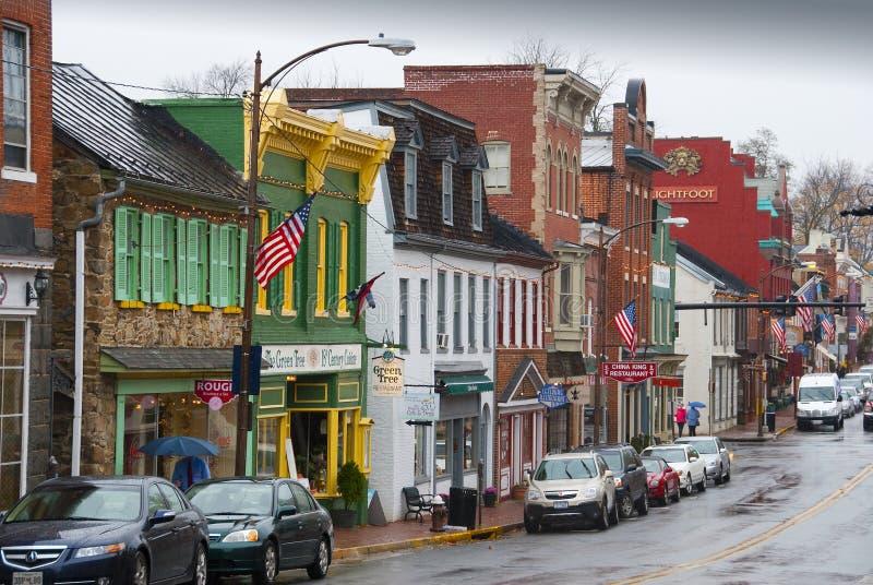 Leesburg Virginia arkivfoton