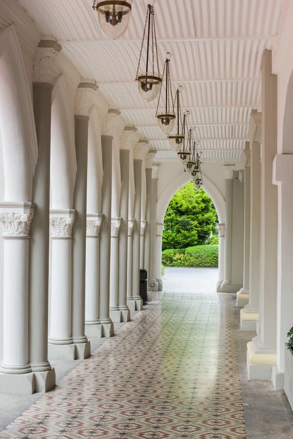Historiska arkitektoniska detaljer royaltyfria foton