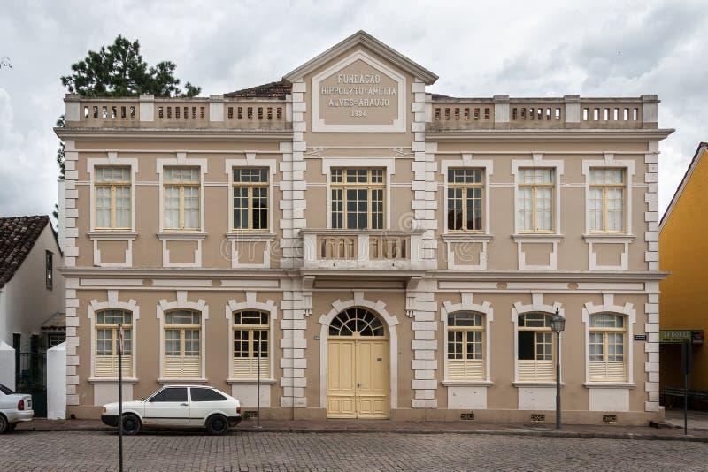 Historiska byggande Lapa Parana arkivbild