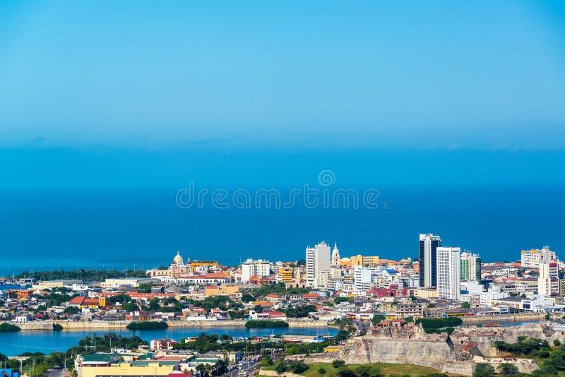 Historiska Cartagena, Colombia royaltyfri bild