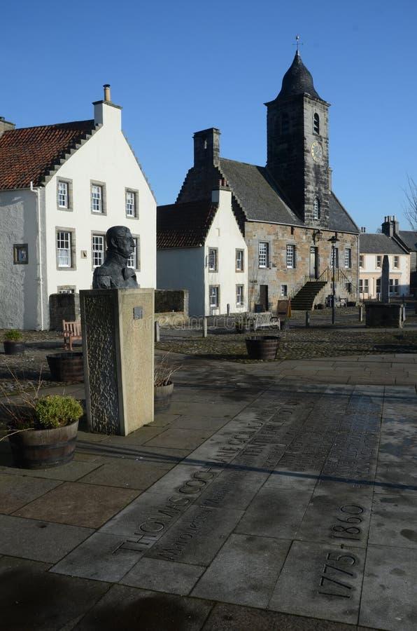 Historiska Culross royaltyfri foto