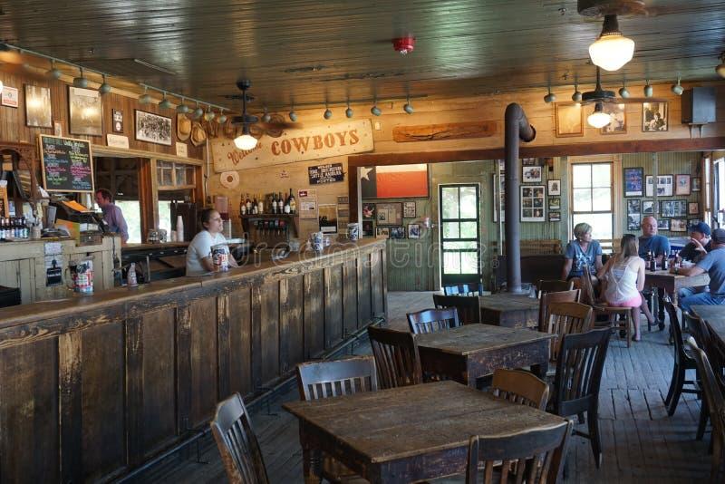 Historiska Gruene Hall i Gruene, TX arkivbild