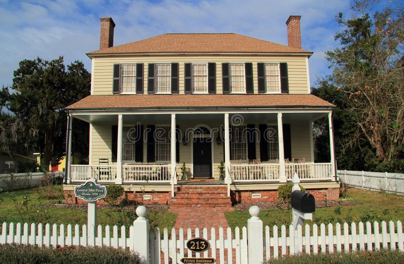 Historiska John Floyd Home arkivfoto