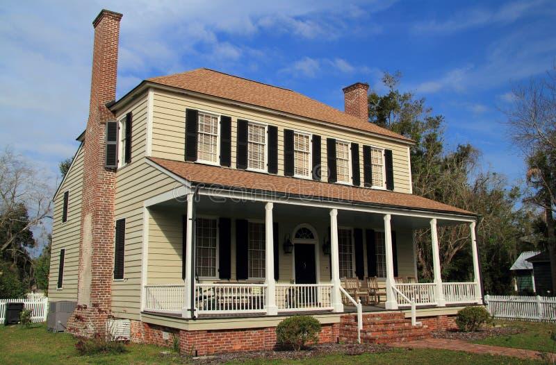 Historiska John Floyd Home royaltyfri fotografi