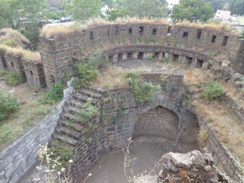 Historiska strukturer och konstruktioner som göras från stenar fotografering för bildbyråer