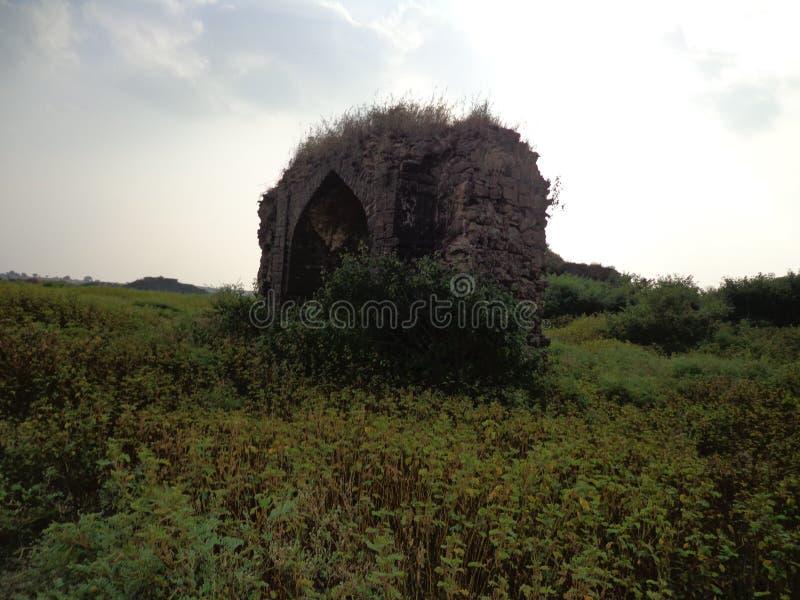 Historiska strukturer och konstruktioner som göras från stenar royaltyfri bild