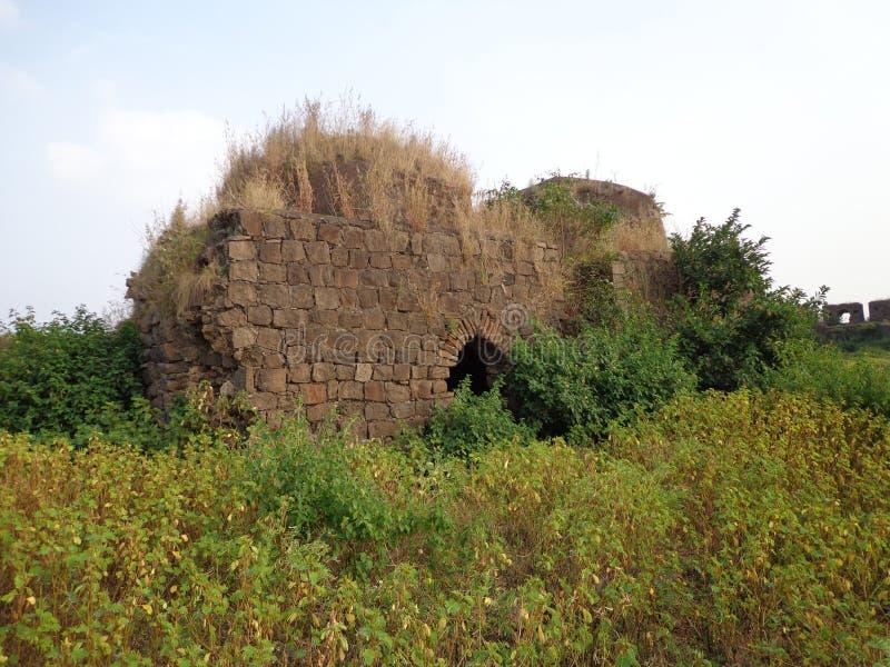 Historiska strukturer och konstruktioner som göras från stenar royaltyfri fotografi