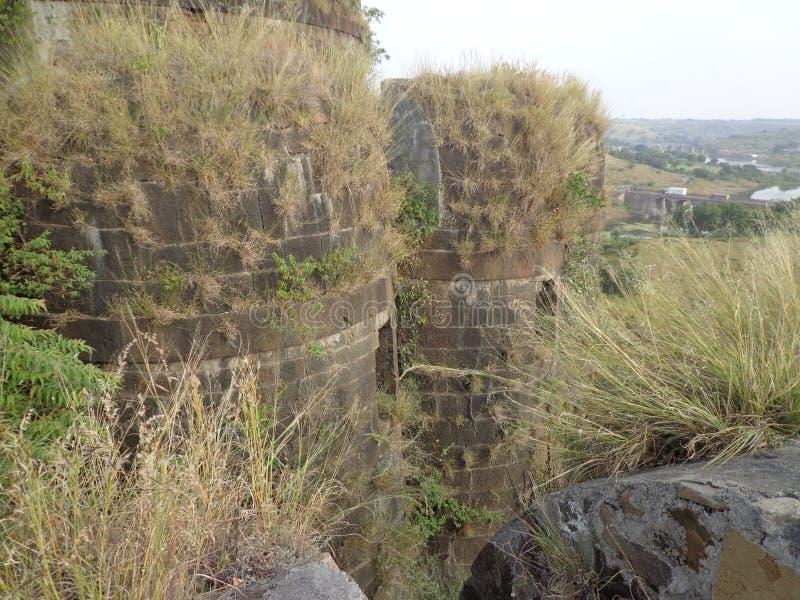 Historiska strukturer och konstruktioner som göras från stenar royaltyfria bilder