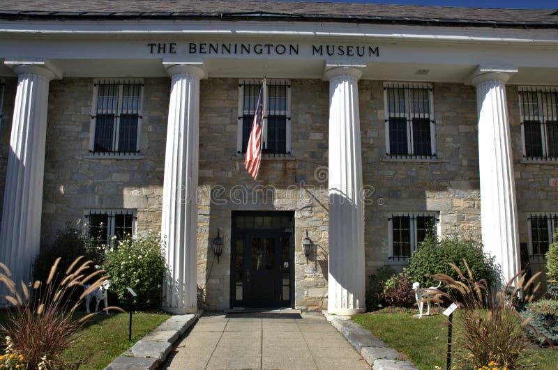 Historiskt arv för Bennington vermont USA stad fotografering för bildbyråer