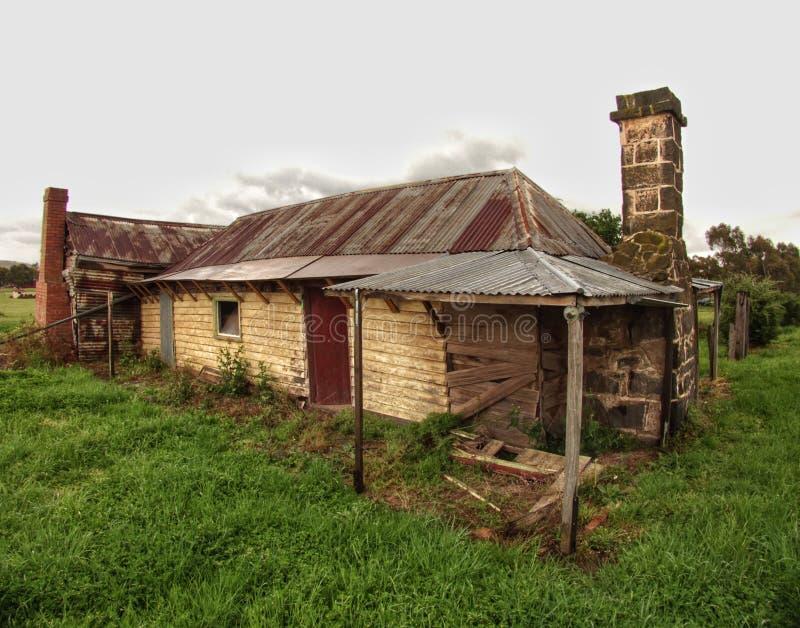 Historiskt fördärvar på Beveridge Victoria Australia royaltyfria bilder