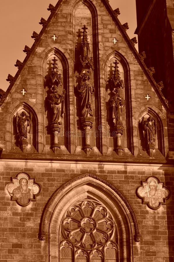 Historiskt slott royaltyfri bild