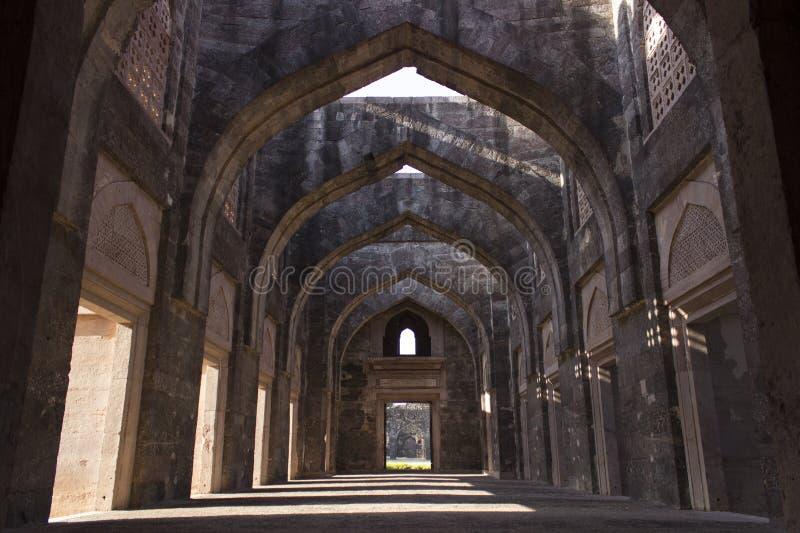 Historiskt ställe, Mandu royaltyfri bild