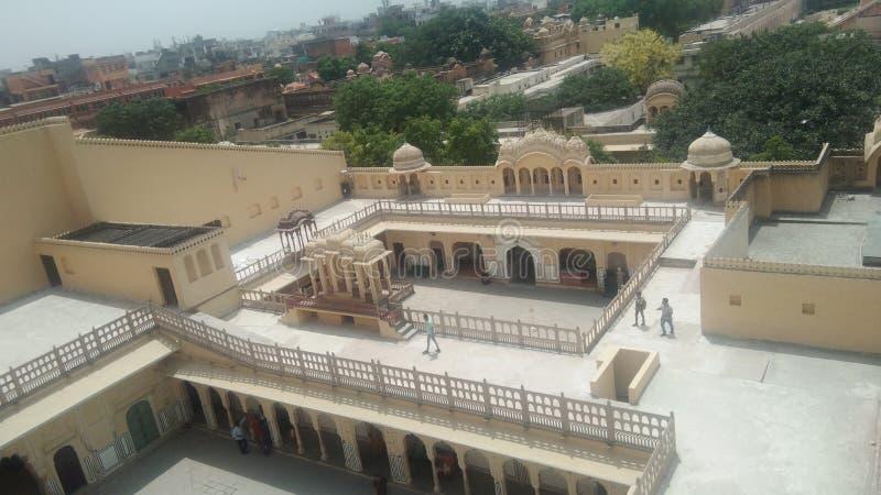 Historiskt st?lle i Jaipur royaltyfria foton
