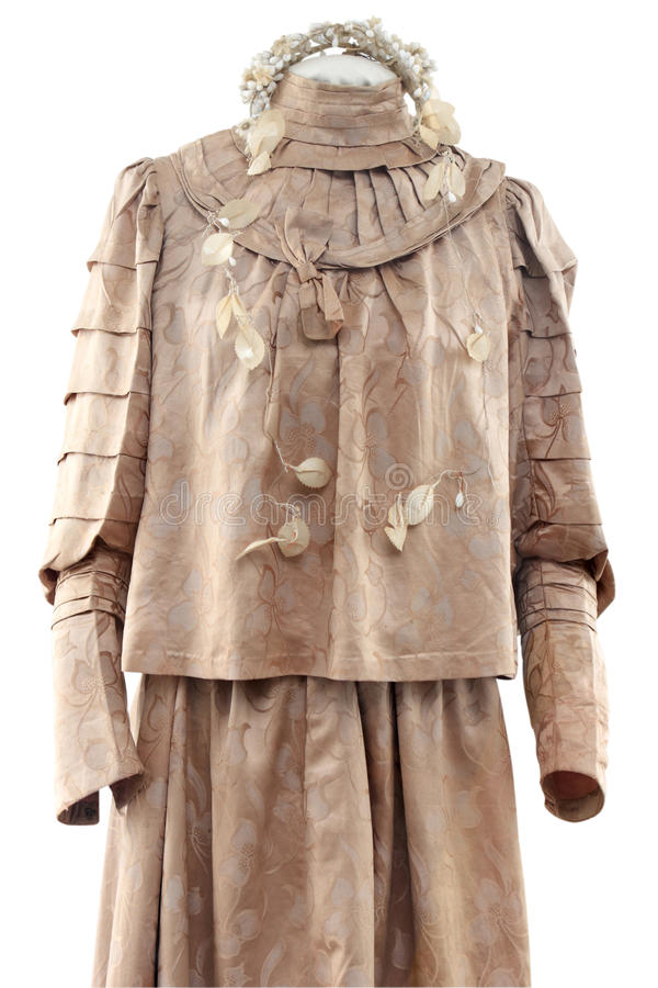 Download History female clothes stock image. Image of jacket, imitation - 12469781