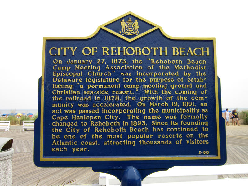Download History of Rehoboth Beach editorial image. Image of wood - 26421685
