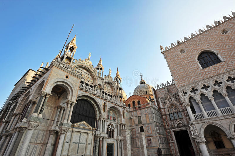 History in Venice stock photo