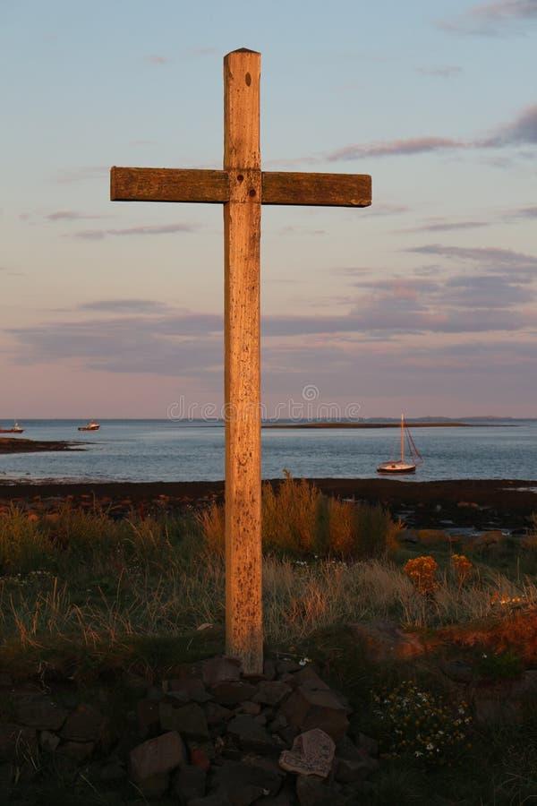 Historyczna święta wyspa obraz stock