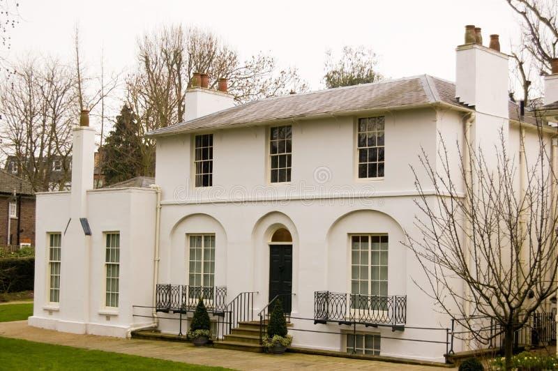 historyczna domowa John keats poeta fotografia royalty free