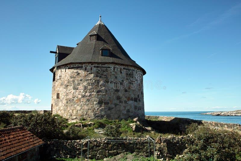 historyczna wieża obserwacyjna zdjęcie stock