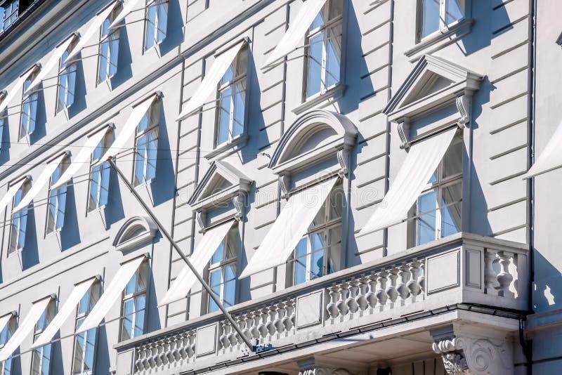 Historyczne fasady zdjęcie royalty free