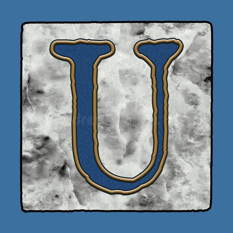 Historyczne Ikonowe Klasyczne Nowy Orlean płytek chodniczka listu abecadła Grunge Uliczne liczby & symbole ilustracja wektor