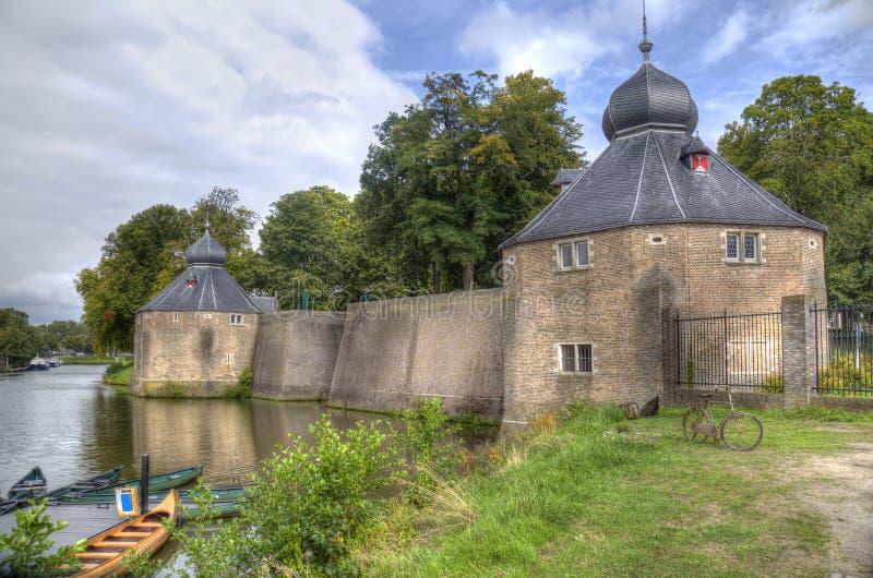 Historyczne koszary Breda, Holandia fotografia royalty free