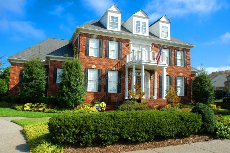 historyczne Nashville w domu fotografia royalty free