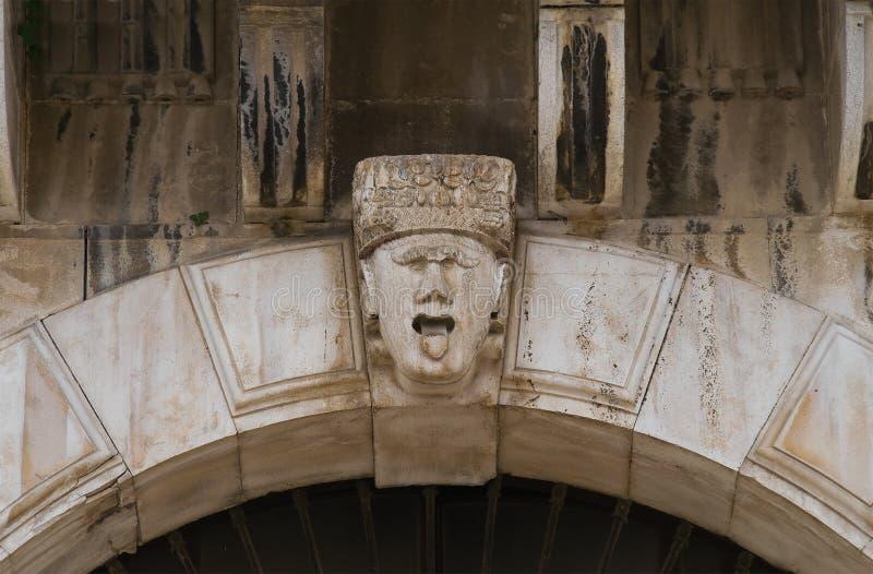 historyczne pałacu andria Puglia Włochy zdjęcia stock
