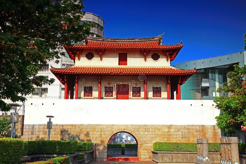 Historycznego miasta Wschodnia brama, Tainan miasto, Tajwan zdjęcie royalty free