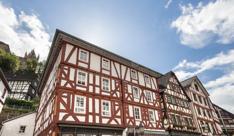 Historycznego miasteczka dillenburg Germany obrazy stock